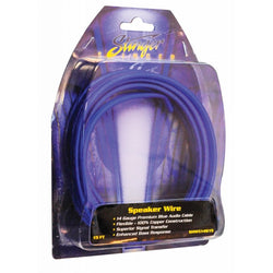 14GA PRO SPEAKER WIRE: BLUE IN BLISTER 15'