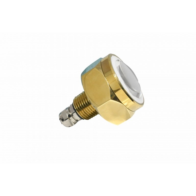 "1.5"" MARINE-GRADE RGB LED UNDERWATER DRAIN PLUG REPLACEMENT"