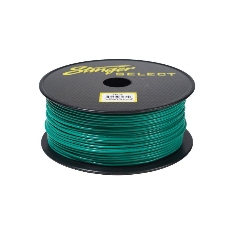 18GA GREEN SS PRIMARY WIRE