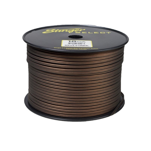 18GA MATTE BLACK POWER WIRE 1000FT SPOOL