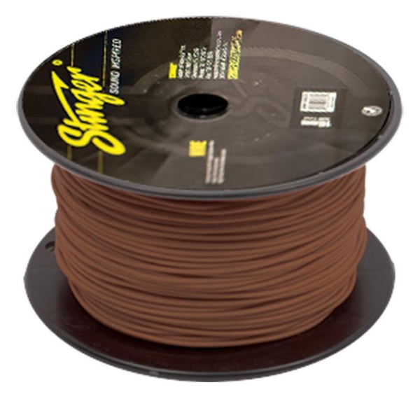18GA PRO PRIMARY WIRE: BROWN 500' ROLL