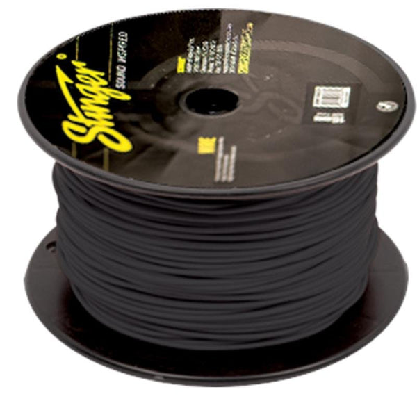 18GA PRO PRIMARY WIRE: MATTE BLACK 500' ROLL