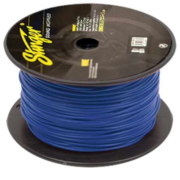 18GA PRO PRIMARY WIRE: TRANSLUCENT BLUE 500' ROLL
