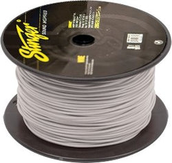 18GA PRO PRIMARY WIRE: WHITE 500' ROLL