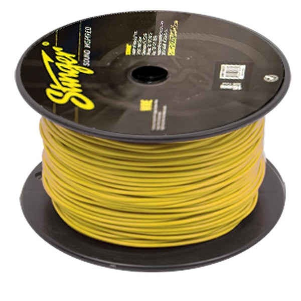 18GA PRO PRIMARY WIRE: YELLOW 500' ROLL