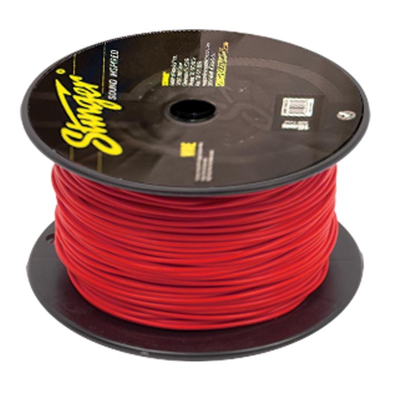 18GA PRO PRIMARY WIRE:RED 1000' ROLL