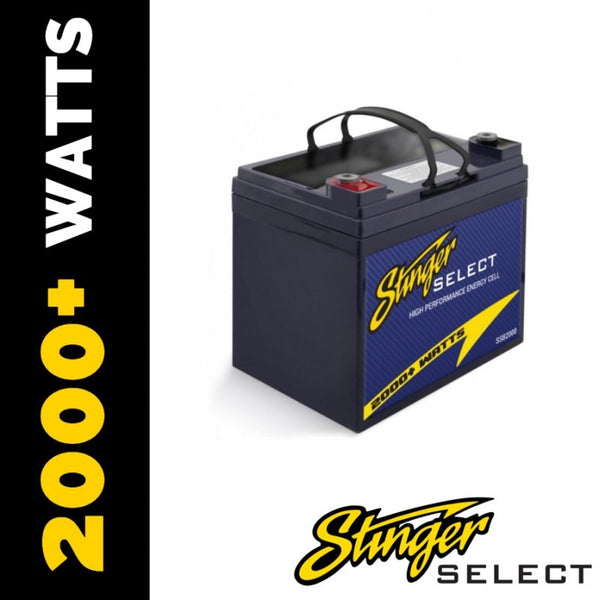 2000WATT SECONDARY BATTERY
