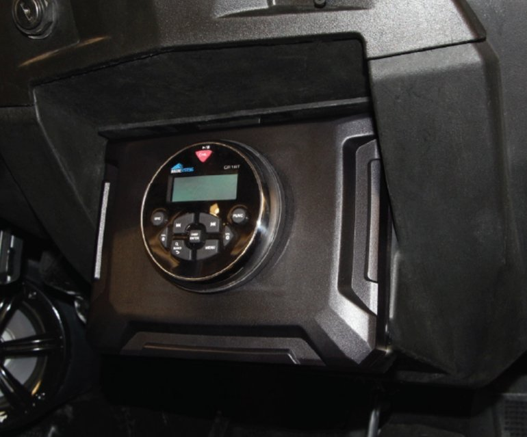 "3"" Aftermarket Multimedia Dash Kit for select 2014–2019 Polaris RZR"