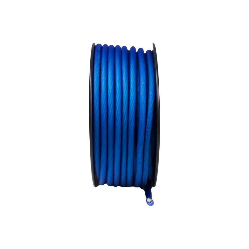 4GA MATTE BLUE POWER WIRE