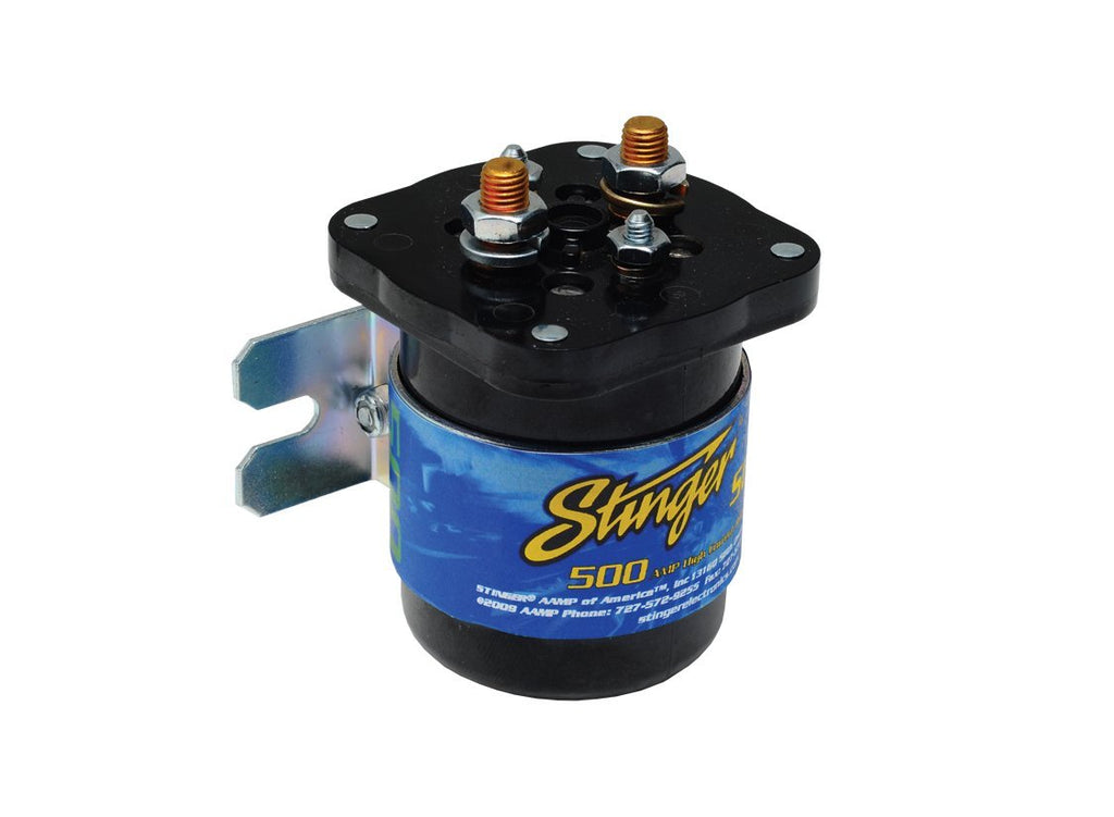 NEW STINGER SGP32 HIGH CURRENT POWER RELAY BATTERY ISOLATOR 200 AMP CAR AUDIO