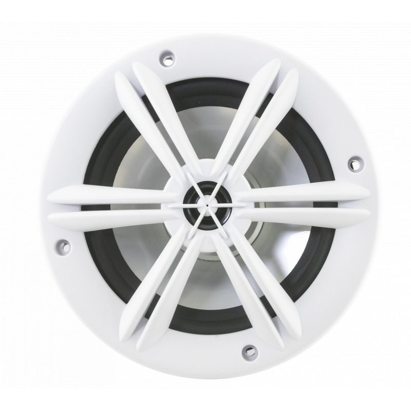 "6.5"" WHITE COAXIAL MARINE SPEAKERS"