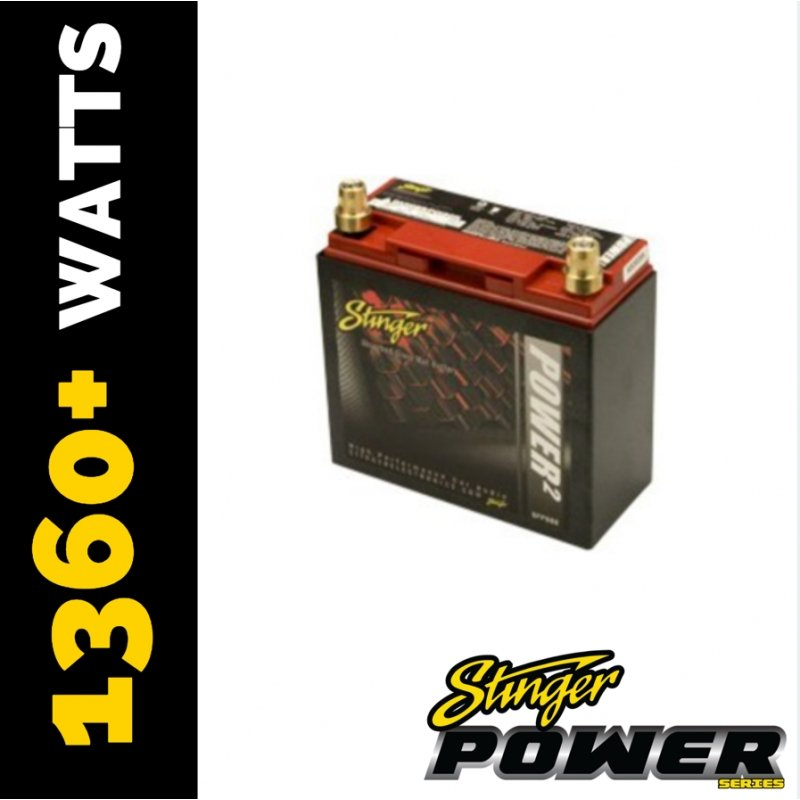 Stinger SPP1500DC 1500 Amp SPP Series Dry Cell Battery with Protective Steel Case