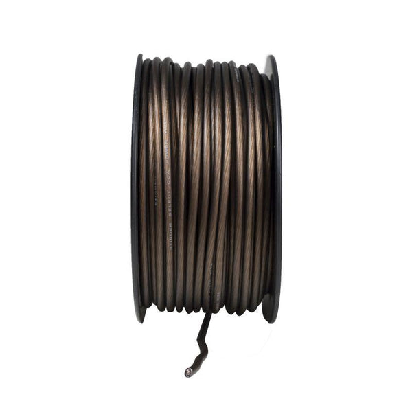 8GA MATTE BLACK POWER WIRE