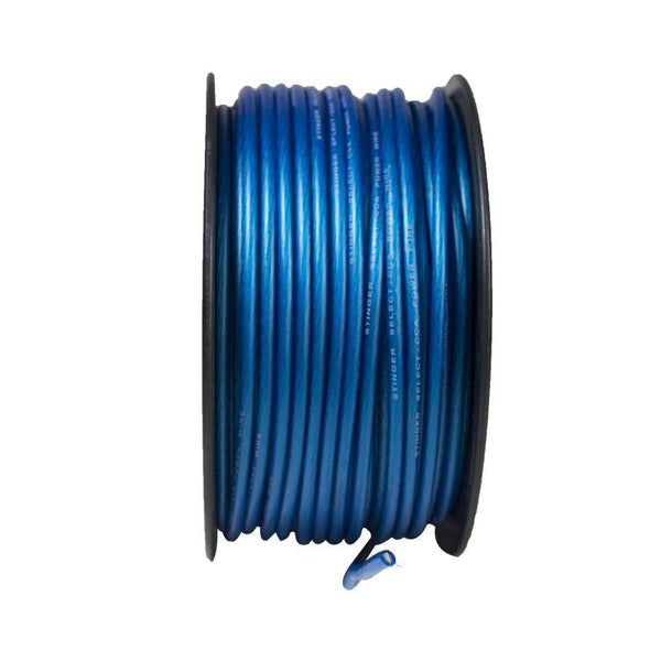 8GA MATTE BLUE POWER WIRE