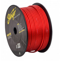 8GA PRO POWER WIRE: RED 250' Roll