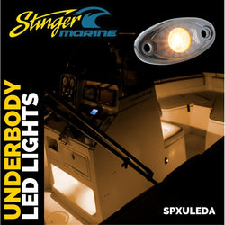 Amber IPX68 LED GUNNEL/DECK/CABIN ACCENT LIGHTS (PAIR)