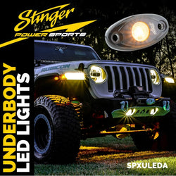 Amber IPX68 LED UNDERBODY/WHEEL WELL/ROCK LIGHTS (PAIR)