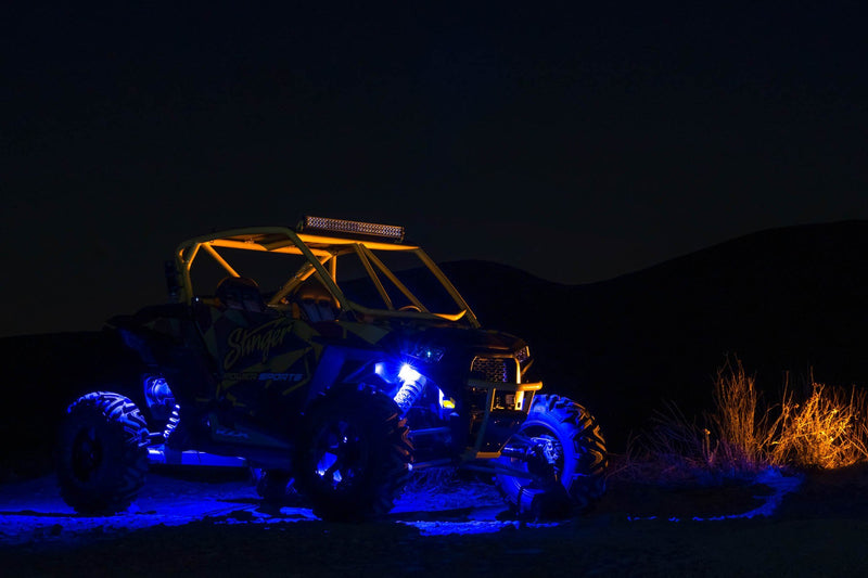 BLUE IPX68 LED UNDERBODY/WHEEL WELL/ROCK LIGHTS (PAIR)