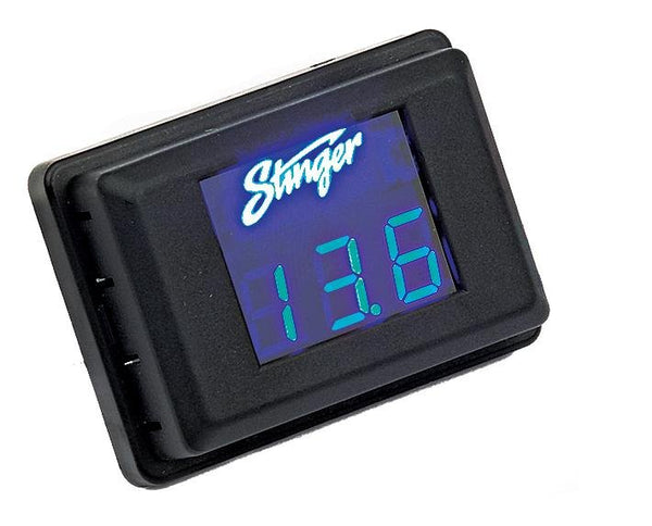 BLUE LED VOLTAGE DISPLAY (3 DIGIT DISPLAY)