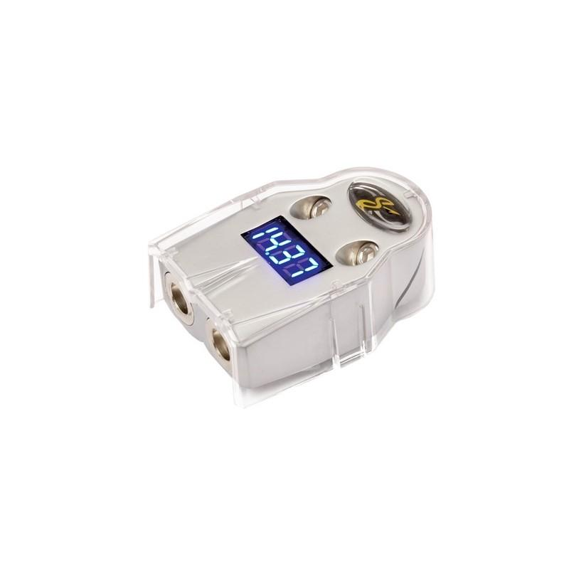 DIGITAL BATTERY TERMINAL WITH VOLT METER