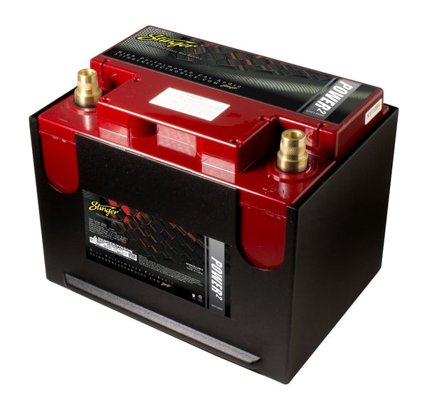 GROUP 75, 86 - 1300 AMP SPP SERIES DRY CELL STARTING OR SECONDARY BATTERY W/ PROTECTIVE STEEL CASE