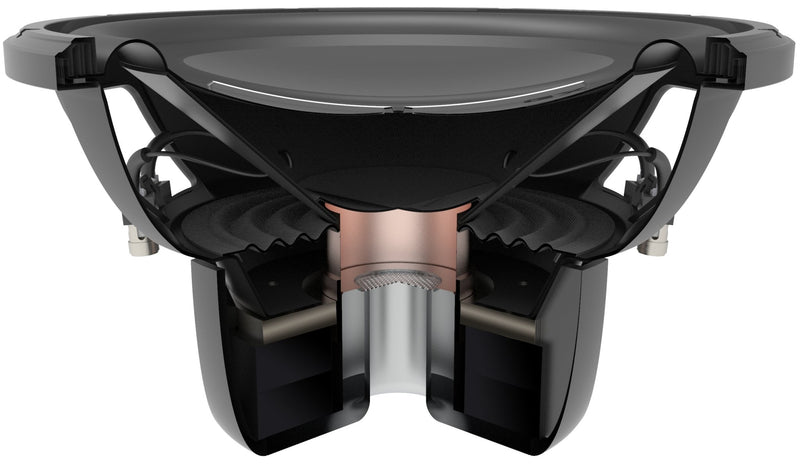 "GX 12"" High Performance Dual 4-Ohm Subwoofer"