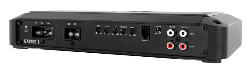 GX 1200W 1-Channel Monoblock Class D Amplifier