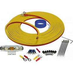 MARINE COMPLIANT WIRING KIT WITH DUAL SIAMESE POWER/GROUND WIRE 8GA 3 METER
