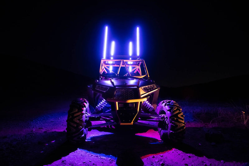 POWERSPORTS IP65 RGB LED 8-WAY APP CONTROLLED UNDERBODY/WHEEL WELL LIGHT KIT