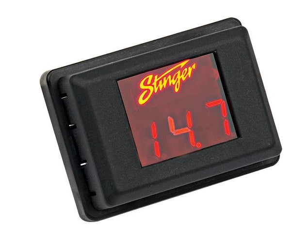 RED LED VOLTAGE DISPLAY (3 DIGIT DISPLAY)