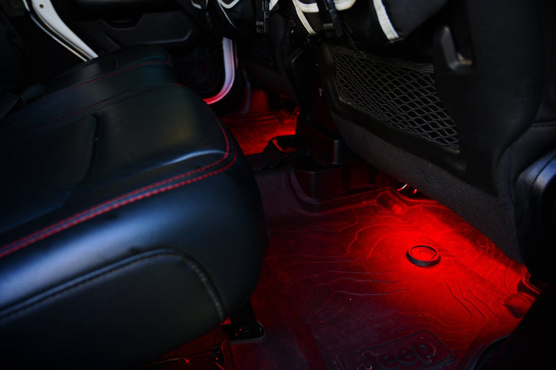 RGB Light Strips for In-Vehicle Accent Lighting