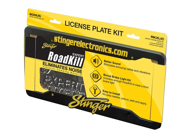 ROADKILL LICENSE PLATE KIT