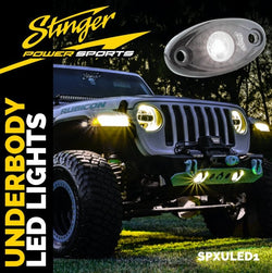 WHITE IPX68 LED UNDERBODY/WHEEL WELL/ROCK LIGHTS (PAIR)