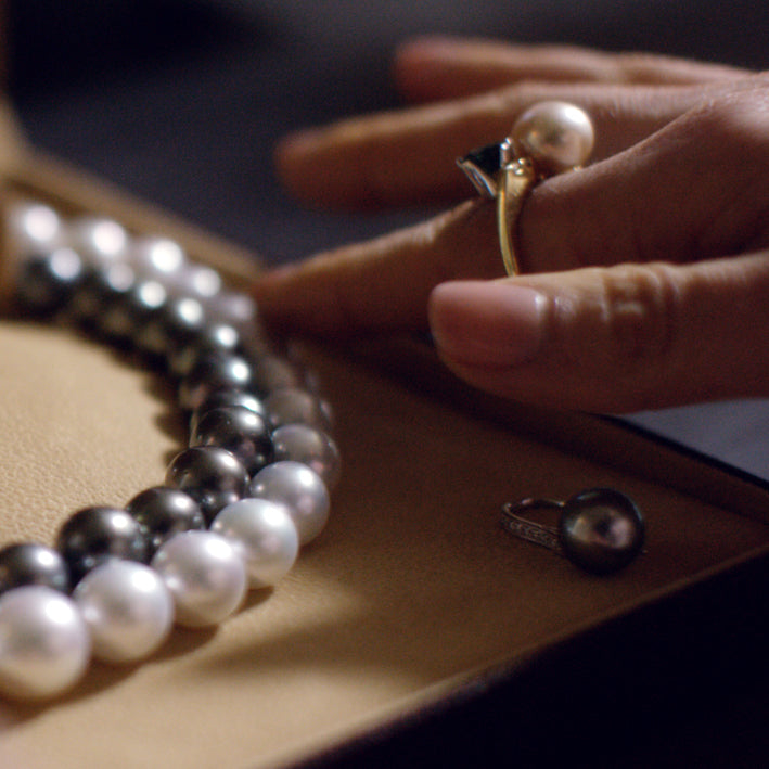 What are the different types of Cultured Pearls?