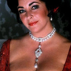 La Peregrina Natural Pearls worn by Elizabeth Taylor