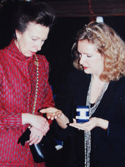Princess Anne with Chrissie Douglas