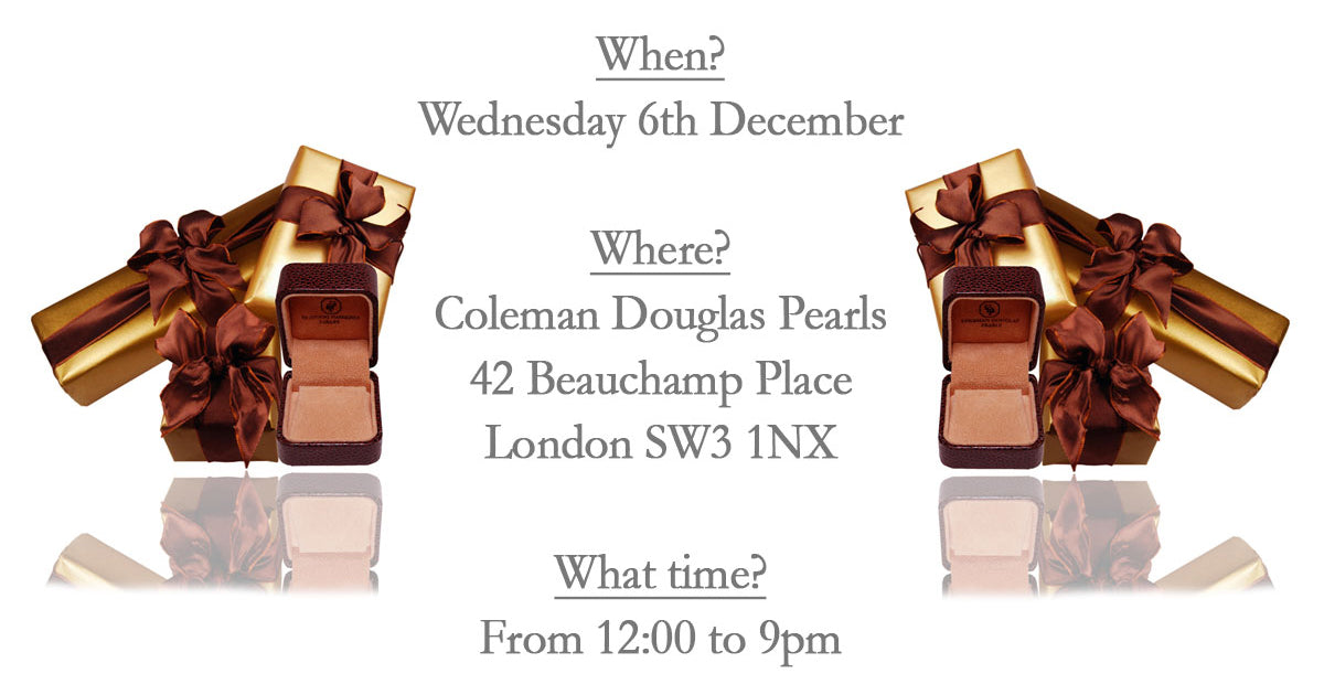 Coleman Douglas Pearls Christmas Event - 6th December 2017