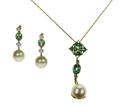 Pearl jewelry by Coleman Douglas Pearls