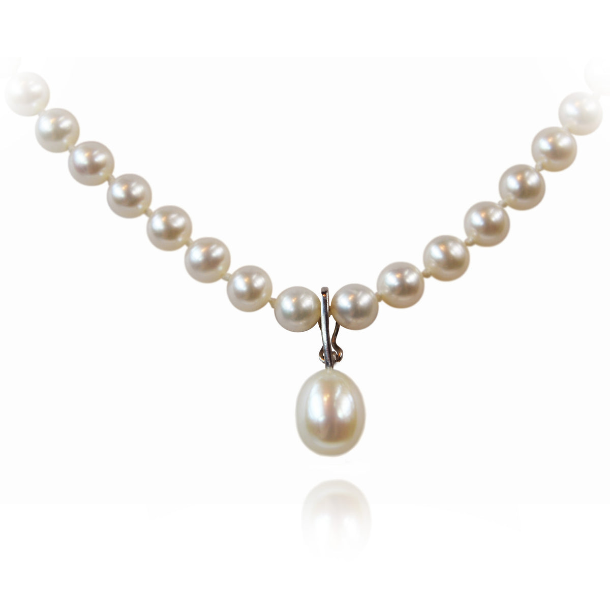 White Freshwater Pearl 'Build Your Own' Drop