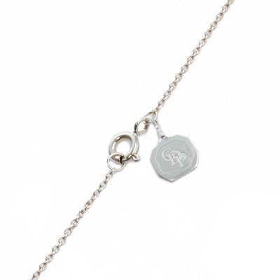 Joyful Single Biwa White Pearl Short Pendant