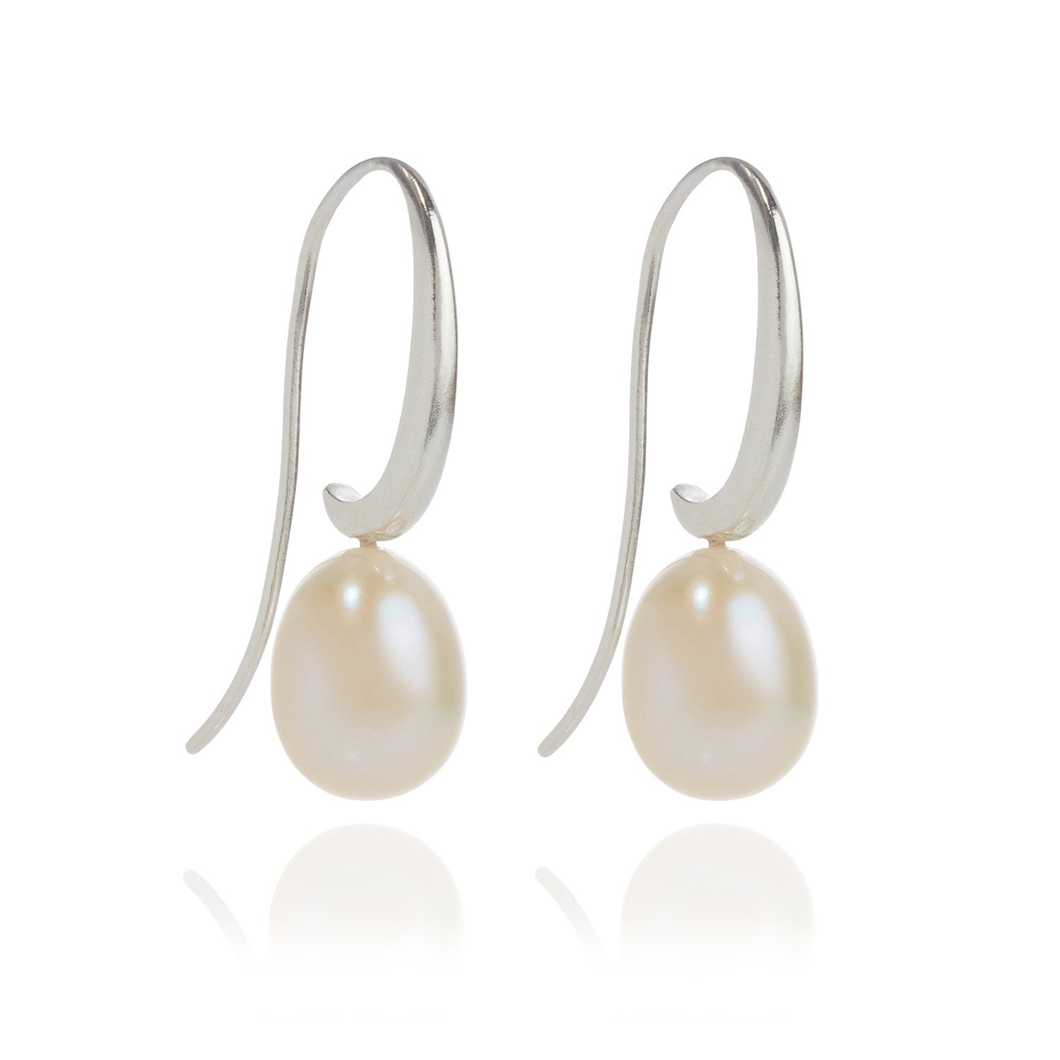 jewelry ball pearl white tier peral drop earrings product erc singh shop amrita