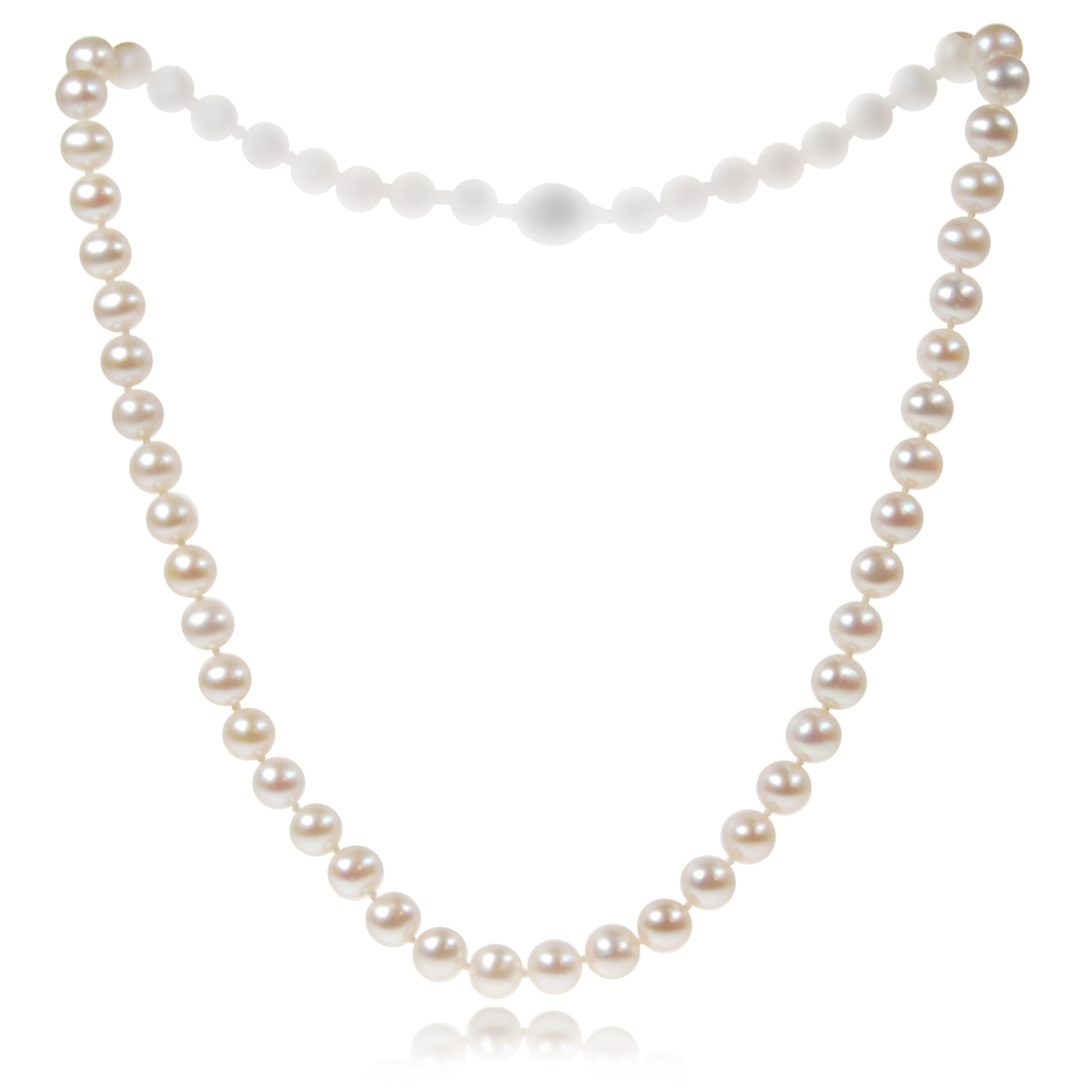 Single Strand Freshwater Pearl Medium Necklace