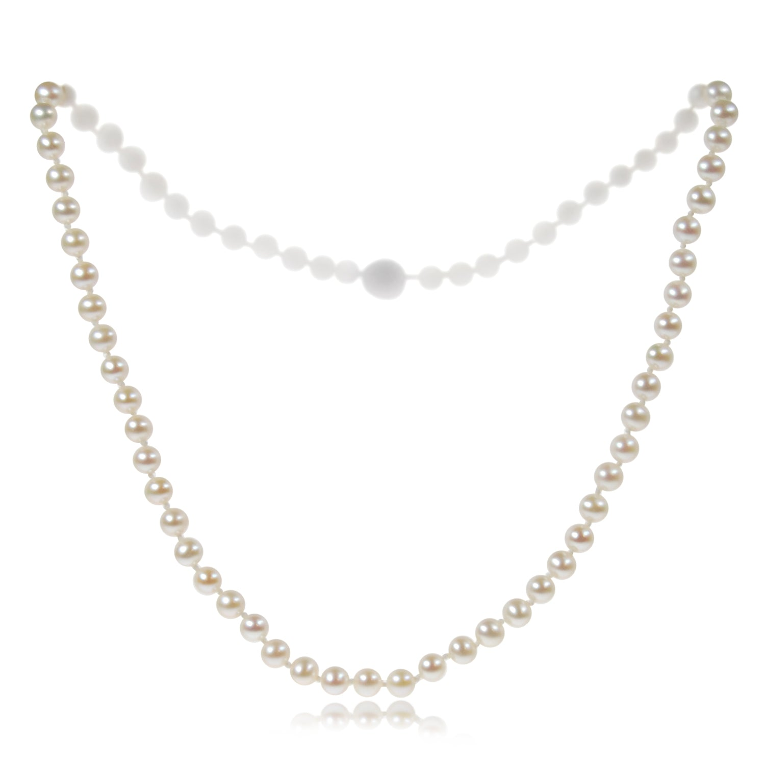 Single Strand Freshwater Pearl Small Necklace