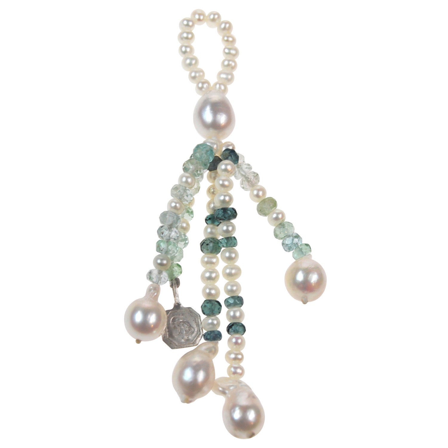 Freshwater Pearl Tassel on Necklace