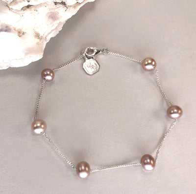 Round Freshwater Pearl Bracelet