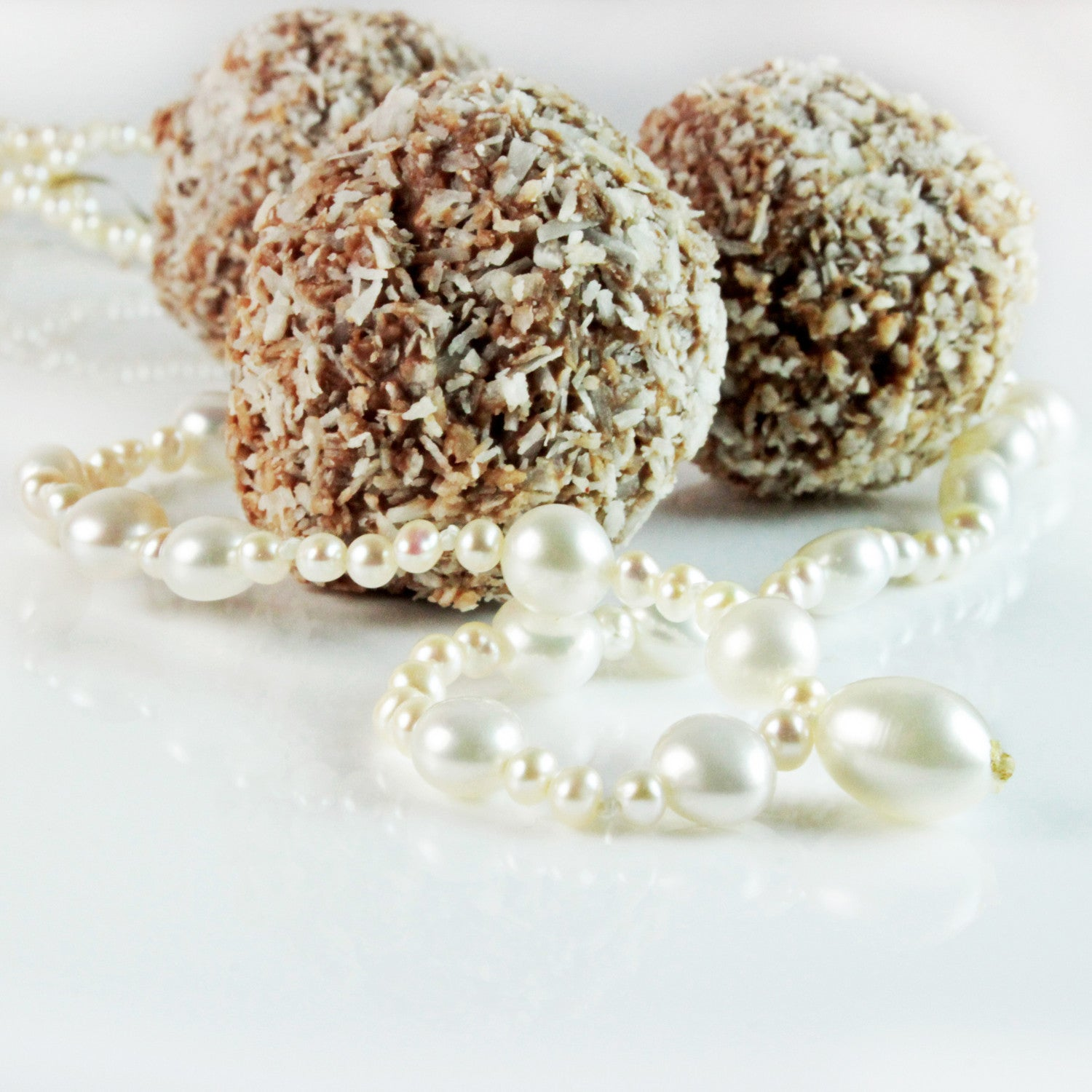 Limited Edition Single Strand Pearl Necklace with Drop