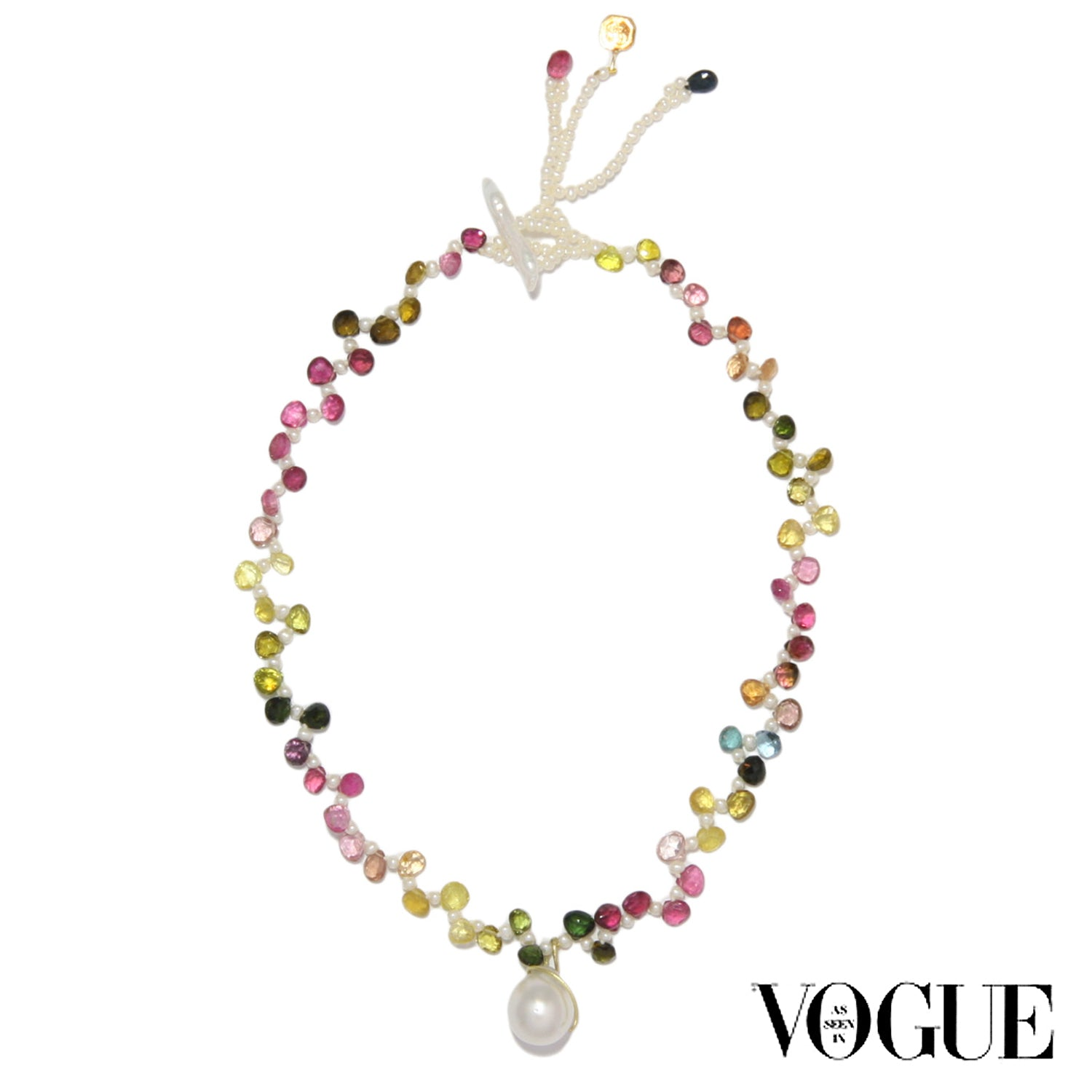 South Sea Pearl and Tourmaline 'Gift of Life' Necklace