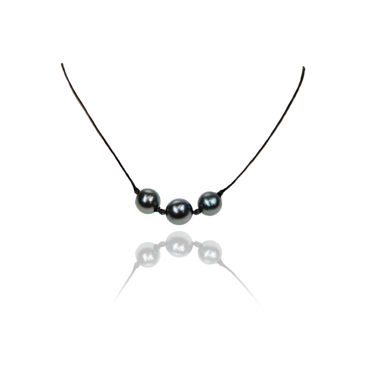 Friendship Tahitian Triple Pearl Necklace