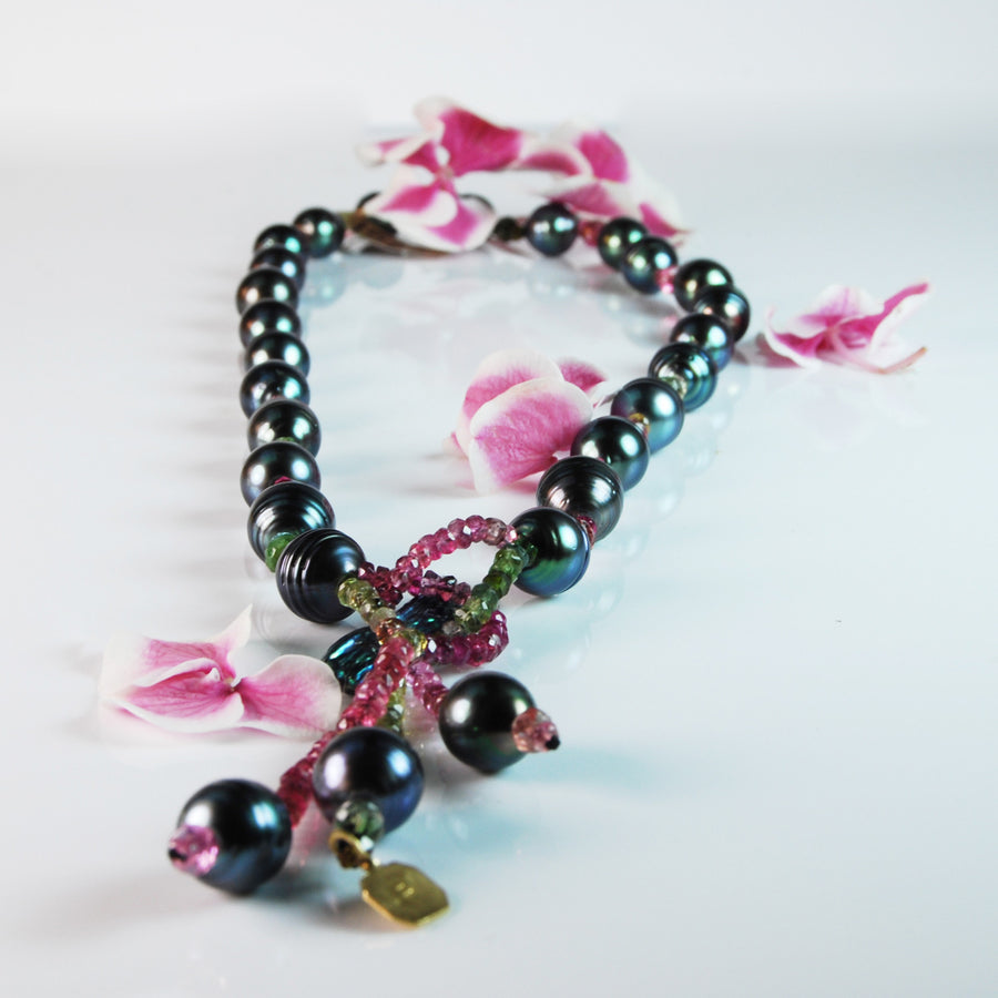 Baroque Tahitian Pearl 'Gift Of Life' Necklace