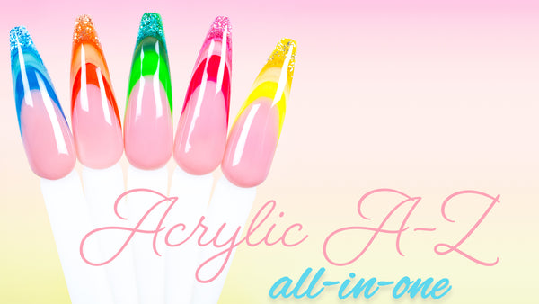 Acrylic A-Z: How to Apply NEW Kiara Sky All-in-One Acrylic
